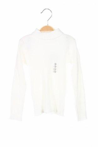 Detský sveter  Grain De Ble, Veľkosť 3-4y/ 104-110 cm, Farba Biela, 82% bavlna, 18% polyamide, Cena  7,58€
