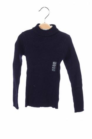 Detský sveter  Grain De Ble, Veľkosť 3-4y/ 104-110 cm, Farba Modrá, 82% bavlna, 18% polyamide, Cena  7,58€