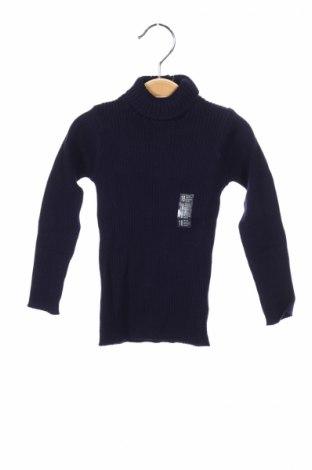 Detský sveter  Grain De Ble, Veľkosť 12-18m/ 80-86 cm, Farba Modrá, 82% bavlna, 18% polyamide, Cena  7,11€