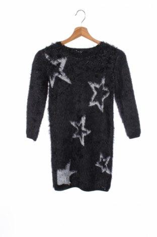Παιδικό πουλόβερ Guess, Μέγεθος 10-11y/ 146-152 εκ., Χρώμα Μαύρο, 84% πολυαμίδη, 11% πολυεστέρας, 5% μεταλλικά νήματα, Τιμή 34,15€