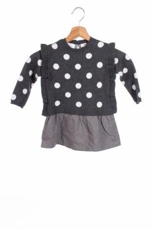 Παιδικό πουλόβερ Zara Kids, Μέγεθος 18-24m/ 86-98 εκ., Χρώμα Γκρί, 100% βαμβάκι, Τιμή 24,25€