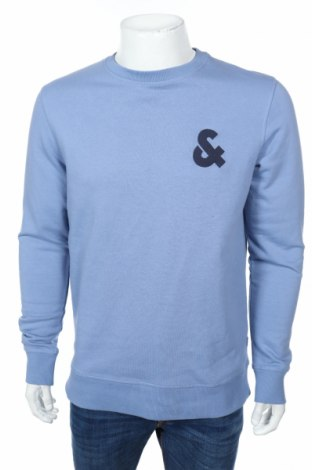 Ανδρική μπλούζα Jack & Jones, Μέγεθος L, Χρώμα Μπλέ, 80% βαμβάκι, 20% πολυεστέρας, Τιμή 10,10€