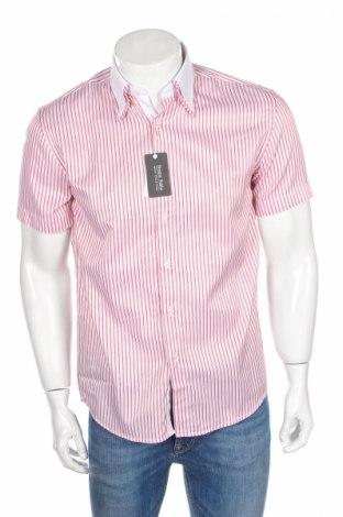 Pánska košeľa  Boston Public, Veľkosť M, Farba Červená, 70% bavlna, 30% polyester, Cena  4,08€