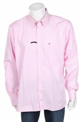 Pánska košeľa  Tommy Hilfiger, Veľkosť XL, Farba Ružová, Bavlna, Cena  26,38€