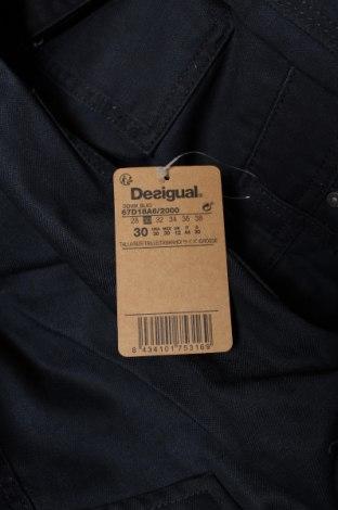 Мъжки гащеризон Desigual, Размер S, Цвят Син, Памук, Цена 44,75лв.