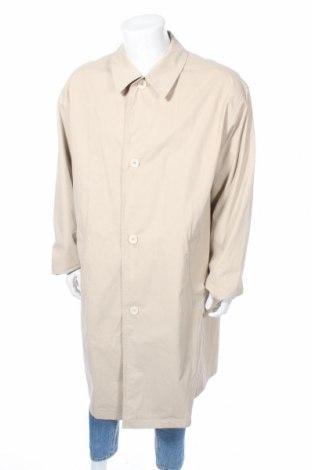 Мъжки кожен шлифер Boss, Размер XL, Цвят Бежов, 95% памук, 5% полиуретан, Цена 29,90лв.
