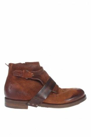 Ανδρικά παπούτσια A.S. 98, Μέγεθος 44, Χρώμα Καφέ, Γνήσιο δέρμα, Τιμή 131,54€