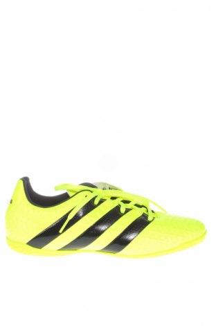 Ανδρικά παπούτσια Adidas, Μέγεθος 40, Χρώμα Κίτρινο, Δερματίνη, Τιμή 17,91€