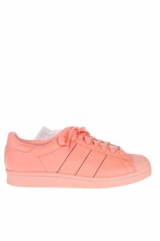 Мъжки обувки Adidas Originals, Размер 40, Цвят Розов, Естествена кожа, еко кожа, Цена 85,05лв.