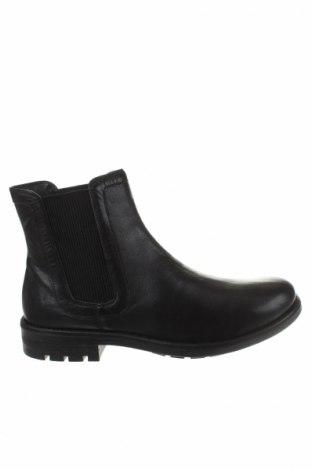 Ανδρικά παπούτσια Cafenoir, Μέγεθος 45, Χρώμα Μαύρο, Γνήσιο δέρμα, Τιμή 65,57€
