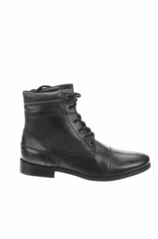 Ανδρικά παπούτσια Christian Laurier, Μέγεθος 43, Χρώμα Μαύρο, Γνήσιο δέρμα, Τιμή 102,68€