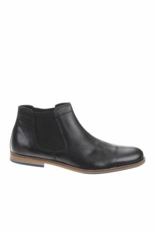 Ανδρικά παπούτσια Christian Laurier, Μέγεθος 45, Χρώμα Μαύρο, Γνήσιο δέρμα, Τιμή 106,81€