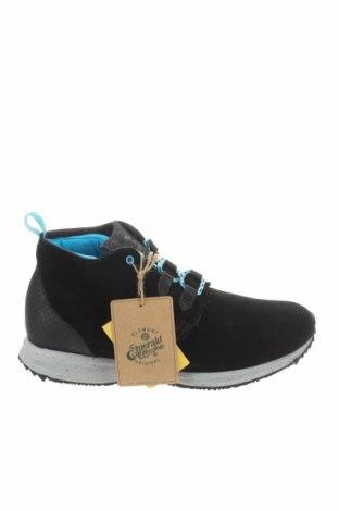 Ανδρικά παπούτσια Element, Μέγεθος 41, Χρώμα Μαύρο, Φυσικό σουέτ, γνήσιο δέρμα, Τιμή 65,57€
