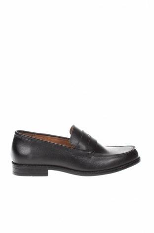 Ανδρικά παπούτσια Finstone, Μέγεθος 43, Χρώμα Μαύρο, Γνήσιο δέρμα, Τιμή 27,60€