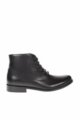 Ανδρικά παπούτσια Jean-Louis Scherrer, Μέγεθος 42, Χρώμα Μαύρο, Γνήσιο δέρμα, Τιμή 106,81€