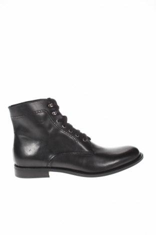 Ανδρικά παπούτσια Jean-Louis Scherrer, Μέγεθος 44, Χρώμα Μαύρο, Γνήσιο δέρμα, Τιμή 106,81€