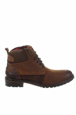 Ανδρικά παπούτσια Kaporal, Μέγεθος 43, Χρώμα Καφέ, Γνήσιο δέρμα, φυσικό σουέτ, Τιμή 64,33€