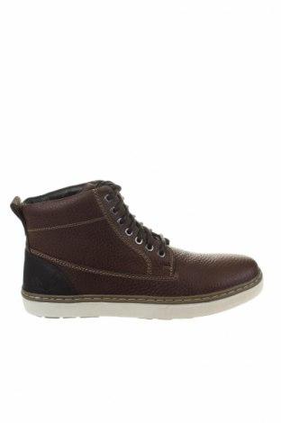 Ανδρικά παπούτσια Kaporal, Μέγεθος 42, Χρώμα Καφέ, Γνήσιο δέρμα, Τιμή 64,33€