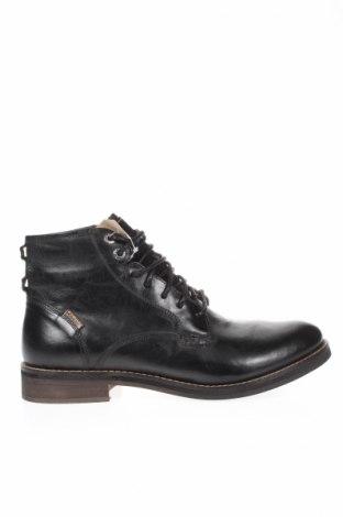 Ανδρικά παπούτσια Levi's, Μέγεθος 42, Χρώμα Μαύρο, Γνήσιο δέρμα, Τιμή 82,06€
