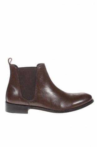 Ανδρικά παπούτσια Maison Heritage, Μέγεθος 41, Χρώμα Καφέ, Γνήσιο δέρμα, Τιμή 92,37€