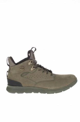 Ανδρικά παπούτσια Timberland, Μέγεθος 44, Χρώμα Πράσινο, Γνήσιο δέρμα, Τιμή 94,43€