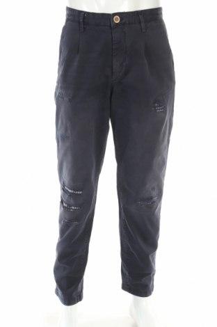 Pánske nohavice  Jack & Jones, Veľkosť L, Farba Modrá, 97% bavlna, 3% elastan, Cena  12,76€