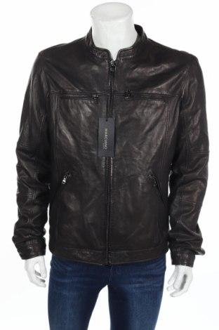 Pánská kožená bunda  Marciano, Rozměr L, Barva Černá, Pravá kůže, Cena  4127,00Kč