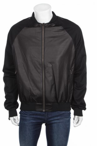 Ανδρικό μπουφάν Adidas Slvr, Μέγεθος XL, Χρώμα Μαύρο, 82% πολυεστέρας, 18% πολυαμίδη, Τιμή 35,98€