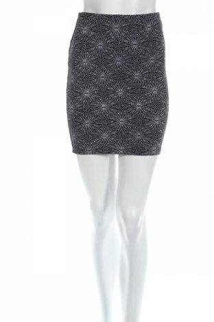 Φούστα H&M Divided, Μέγεθος XS, Χρώμα Μαύρο, 92% πολυαμίδη, 5% ελαστάνη, 3% μεταλλικά νήματα, Τιμή 2,94€