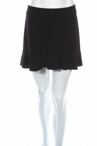 Пола H&M Divided, Размер S, Цвят Черен, 63% полиестер, 33% вискоза, 4% еластан, Цена 5,76лв.