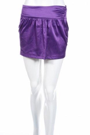 Пола Jennyfer, Размер XS, Цвят Лилав, 50% полиестер, 47% памук, 3% еластан, Цена 5,44лв.