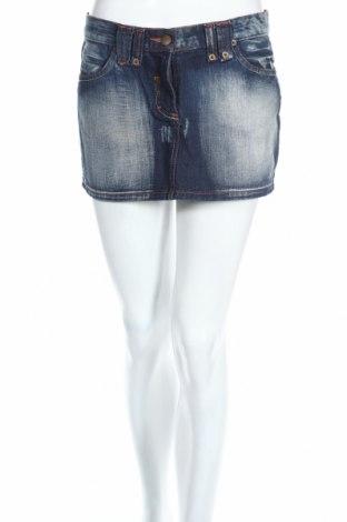 Φούστα Pimkie, Μέγεθος S, Χρώμα Μπλέ, Βαμβάκι, Τιμή 3,23€