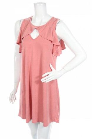 Рокля Alya, Размер L, Цвят Розов, 73% модал, 27% полиестер, Цена 7,25лв.