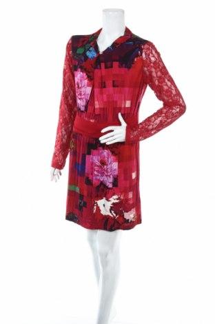 Φόρεμα Desigual, Μέγεθος XXL, Χρώμα Πολύχρωμο, 65% βισκόζη, 15% βαμβάκι, 14% πολυαμίδη, 4% ελαστάνη, Τιμή 19,95€
