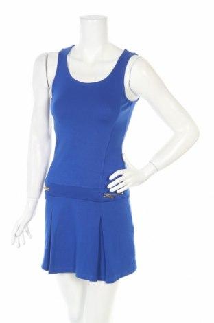 Φόρεμα Jbc, Μέγεθος XS, Χρώμα Μπλέ, 70% βισκόζη, 25% πολυαμίδη, 5% ελαστάνη, Τιμή 6,31€