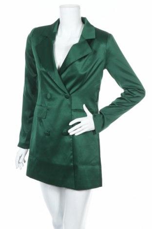 Rochie Nasty Gal, Mărime XXS, Culoare Verde, Poliester, Preț 44,74 Lei