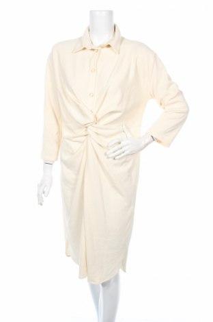 Φόρεμα Zara Trafaluc, Μέγεθος S, Χρώμα Εκρού, 66% βαμβάκι, 34% πολυεστέρας, Τιμή 12,45€