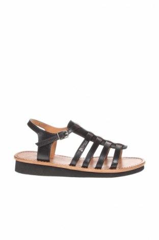 Sandale Les Tropeziennes Par M.Belarbi, Mărime 38, Culoare Negru, Piele naturală, Preț 185,53 Lei