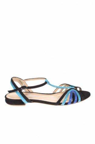 Sandale Mellow Yellow, Mărime 39, Culoare Albastru, Velur natural, Preț 156,84 Lei