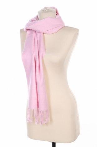 Шал Azzaro, Цвят Розов, Вълна, Цена 119,00лв.