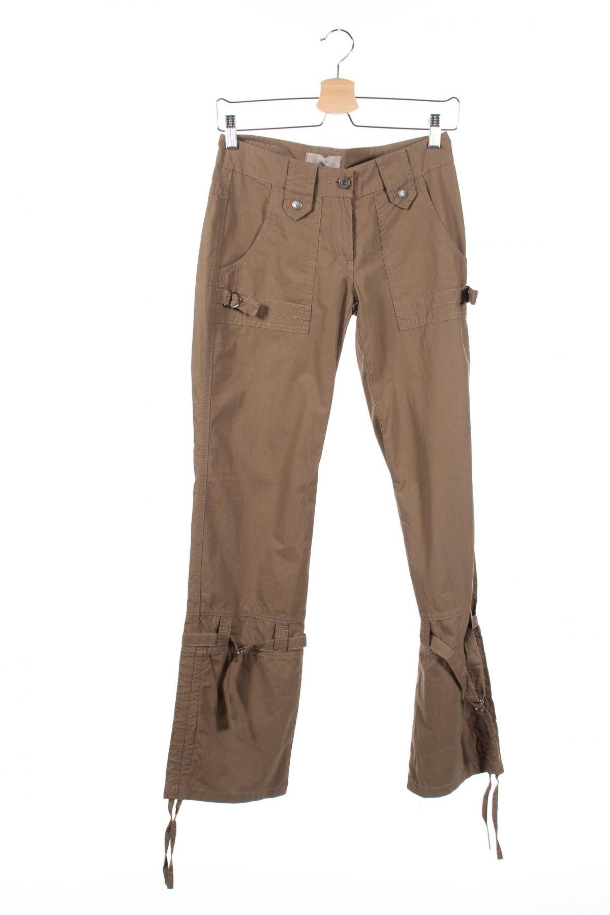 Дамски панталон Stratt, Размер XS, Цвят Кафяв, Цена 10,44лв.