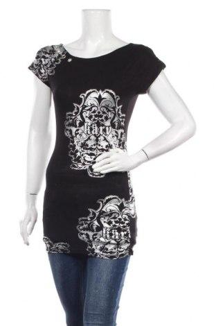 Блуза за бременни Tout Feu Tout Femme, Размер S, Цвят Черен, 90% вискоза, 10% еластан, Цена 14,28лв.