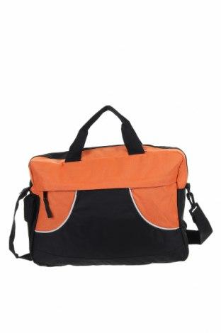 Чанта за документи Centrixx, Цвят Черен, Текстил, Цена 20,48лв.