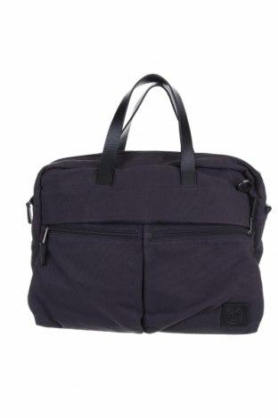 Чанта за лаптоп Marc O'Polo, Цвят Син, Текстил, Цена 54,60лв.