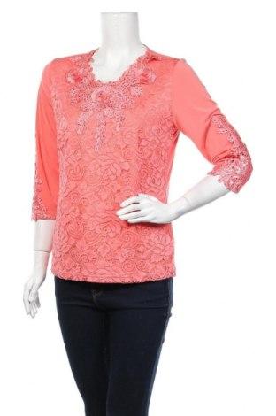 Дамска блуза Alfredo Pauly, Размер M, Цвят Розов, 95% полиестер, 5% еластан, Цена 6,99лв.