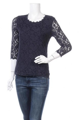 Дамска блуза Alfredo Pauly, Размер M, Цвят Син, Цена 6,62лв.