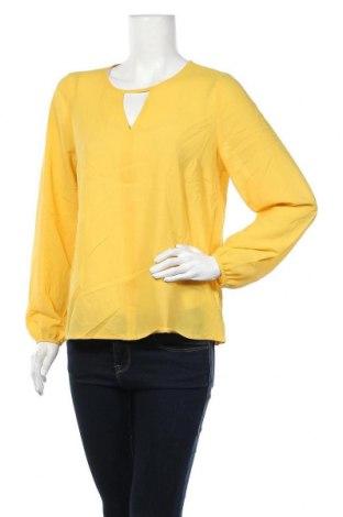 Дамска блуза Amy Vermont, Размер M, Цвят Жълт, 100% полиестер, Цена 5,78лв.