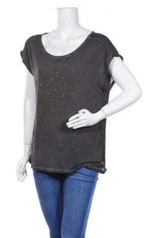 Дамска блуза Anna Scott, Размер L, Цвят Кафяв, Вискоза, полиестер, Цена 9,98лв.
