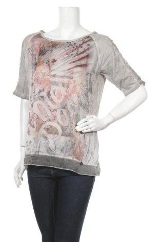 Дамска блуза Barbara Lebek, Размер M, Цвят Сив, Памук, Цена 35,91лв.