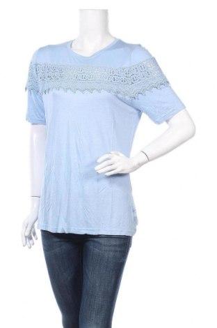 Дамска блуза Be You, Размер L, Цвят Син, Вискоза, Цена 11,00лв.